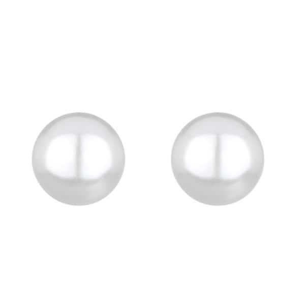Imitation Pearl Bridal Earrings
