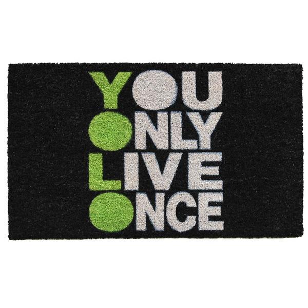 YOLO Doormat