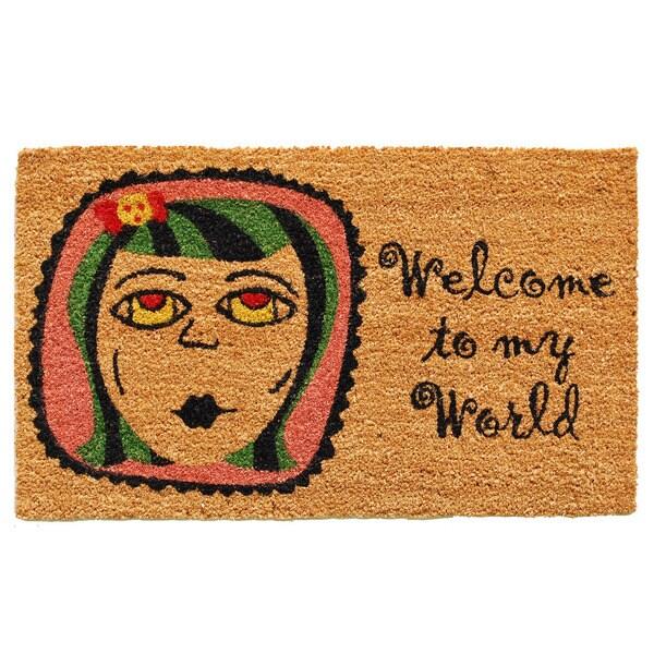 My World Doormat