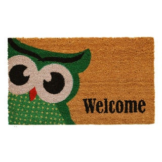 Owlet Welcome Doormat
