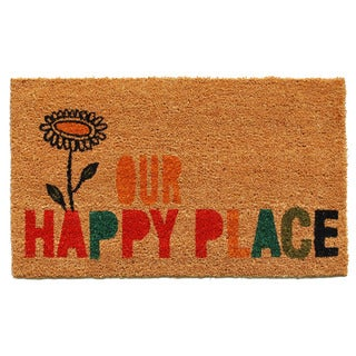 Our Happy Place Doormat