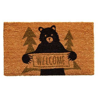 Bear Greeting Doormat