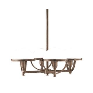 Hudson Valley Stratford 4-light Bronze Chandelier