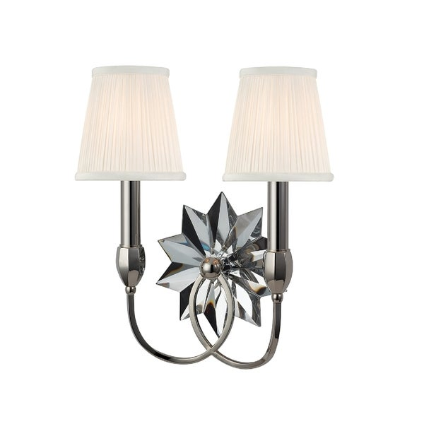 Hudson Valley Barton 2-light Polished Wall Sconce