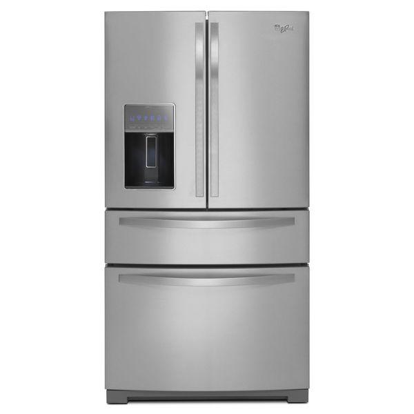 Whirlpool 26 2 Cu Ft French Door Refrigerator 17542545