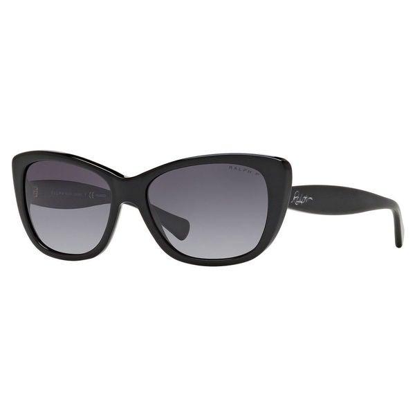 Ralph by Ralph Lauren Women's RA5190 Plastic Cat Eye Polarized Sunglasses
