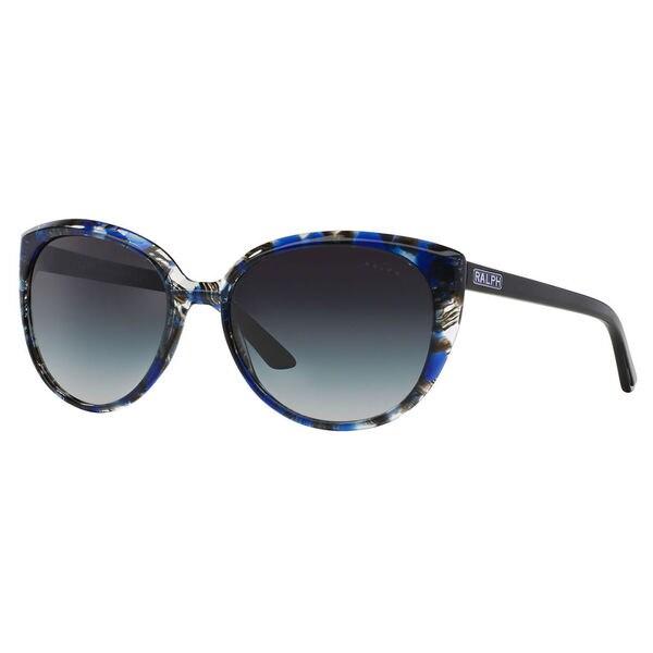 Ralph by Ralph Lauren Women's RA5161 Plastic Cat Eye Sunglasses