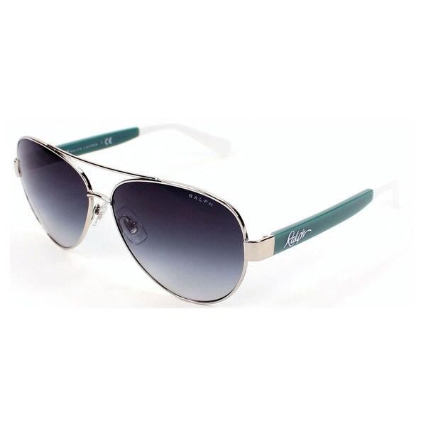 Ralph by Ralph Lauren Women's RA4114 Metal Pilot Sunglasses