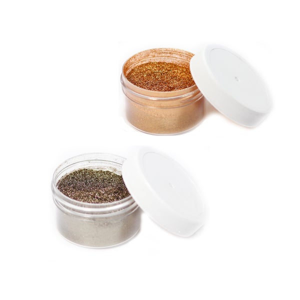Glitter Dust for Face, Hair and Body (Pack of 2)
