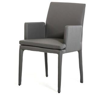 Modrest 3036 Modern Grey Leatherette Dining Chair