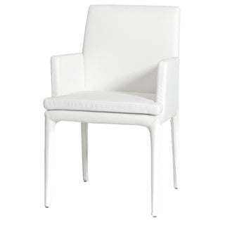 Modrest 3036 Modern White Leatherette Dining Chair (Set of 2)