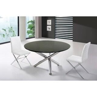 Modrest Frau Modern Round Dining Table
