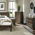 Grain Wood Furniture Shaker Solid Wood Queen-size Slated Platform Bed