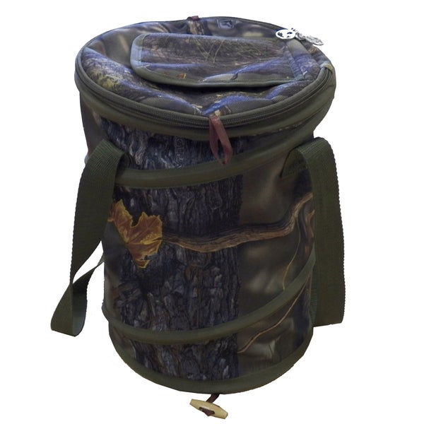 Fierce Products Longleaf Green Camo Pop-up Cooler