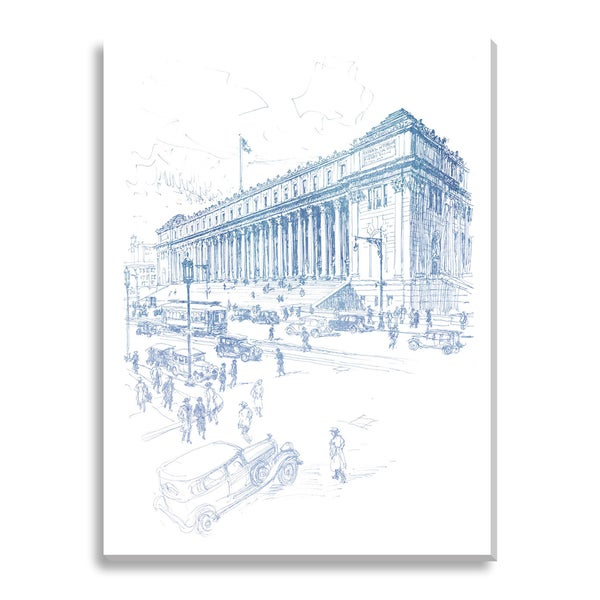 General Post Office, Eighth Avenue Oversized Canvas Gallery Wrap