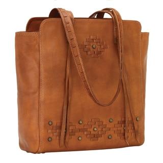American West Amber Waves Zip Top Tote Bag