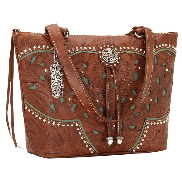 American West Lady Lace Tote Bag