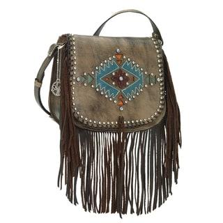 American West Pueblo Moon Hand Bag