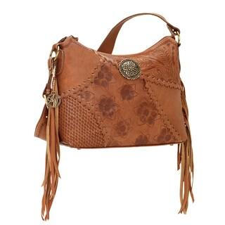 American West Soho Groove Zip-top Shoulder Bag