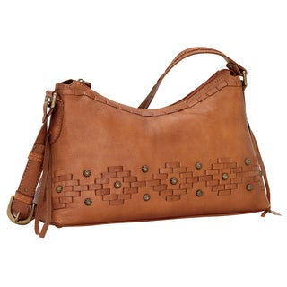 American West Amber Waves Zip Top Shoulder Bag