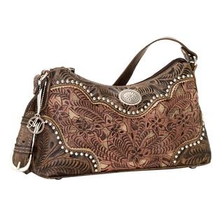 American West Rosewood Shoulder Bag