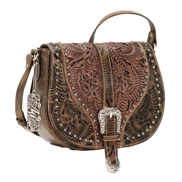 American West Blazing Saddle Crossbody Bag