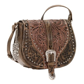 American West Blazing Saddle Crossbody Bag