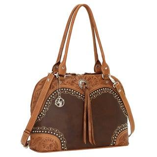 American West Chestnut Ridge Satchel/ Crossbody Bag