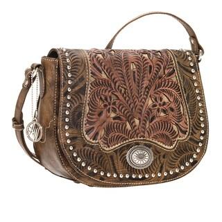 American West Rosewood Crossbody Bag
