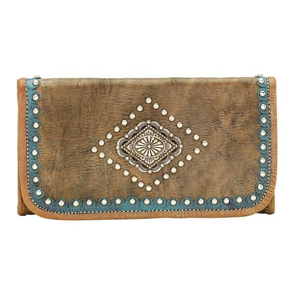 American West Sierra Tri-fold Wallet