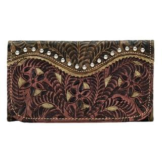 American West Rosewood Wallet
