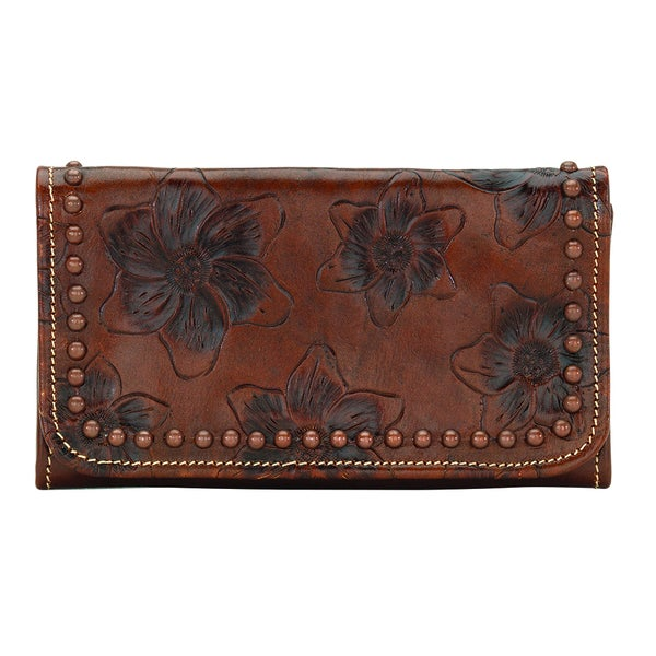 American West Flower Child Wallet