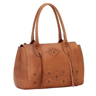 American West Amber Waves Satchel Bag