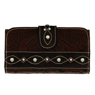 American West Annies Secret Trifold Wallet