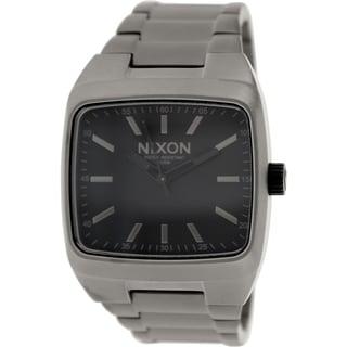 Nixon Men's Manual A2441062 Stainless Steel Quartz Watch