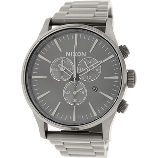 Nixon Men's Sentry A386632 Stainless Steel Quartz Watch
