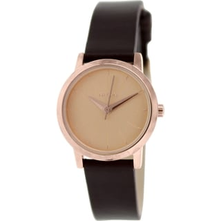 Nixon Women's Kenzi A3981890 Brown Leather Quartz Watch