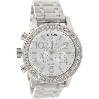 Nixon Women's 38-20 A4041874 Stainless Steel Quartz Watch