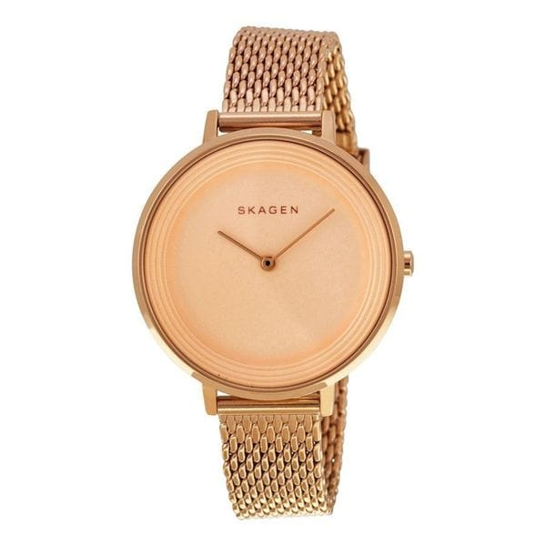 Skagen Women's Ditte SKW2334 Rose Gold Stainless Steel Quartz Watch