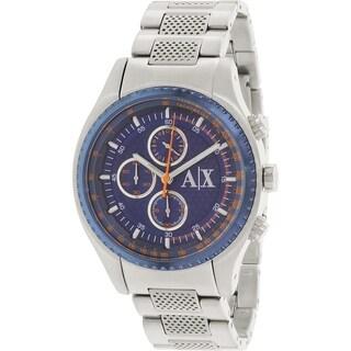 Armani Exchange Men's AX1607 Stainless Steel Quartz Watch