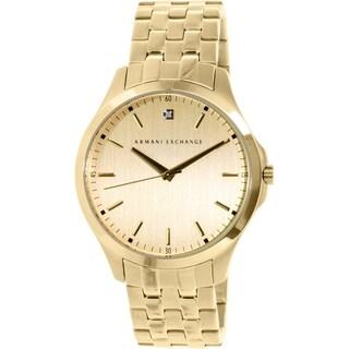 Armani Exchange Men's AX2167 Gold Stainless Steel Quartz Watch