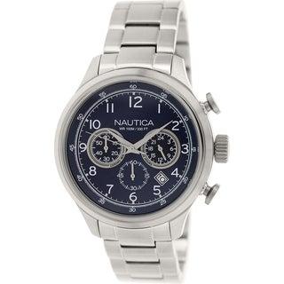 Nautica Men's Nct 16 N19630G Stainless Steel Quartz Watch