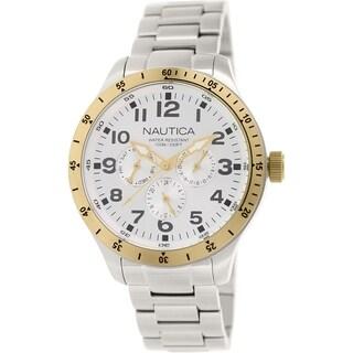Nautica Men's Bfd 101 N15658G Stainless Steel Quartz Watch
