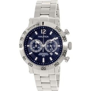 Nautica Men's Nws 200 N23098G Stainless Steel Quartz Watch