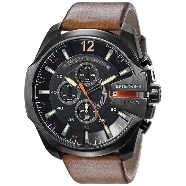 Diesel Men's DZ4343 Mega Chief Black Watch