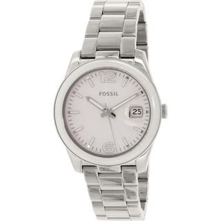 Fossil Women's Boyfriend CE1087 Stainless Steel Quartz Watch