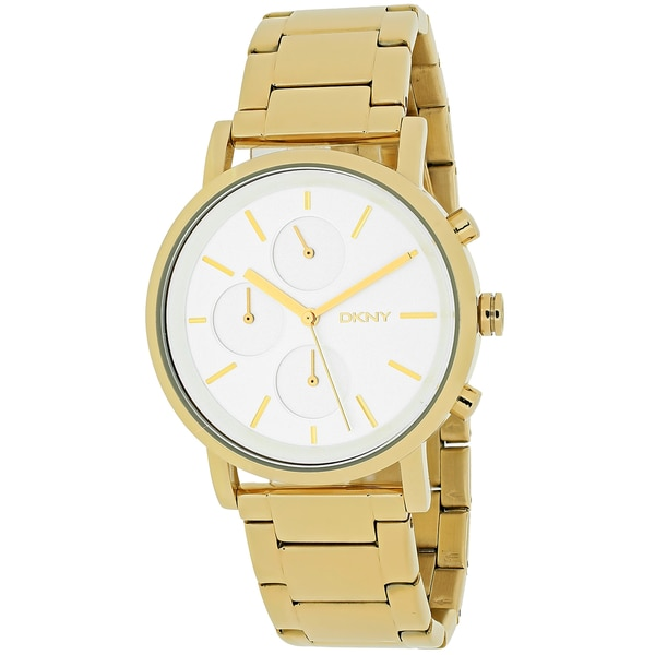 Dkny Women's Soho NY2274 Gold Stainless Steel Quartz Watch