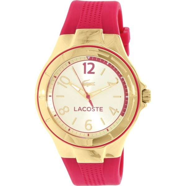 Lacoste Women's Acapo 2000878 Pink Silicone Quartz Watch