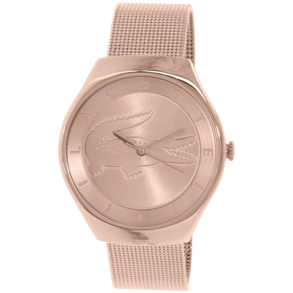 Lacoste Women's Valencia 2000872 Rose Gold Stainless Steel Quartz Watch