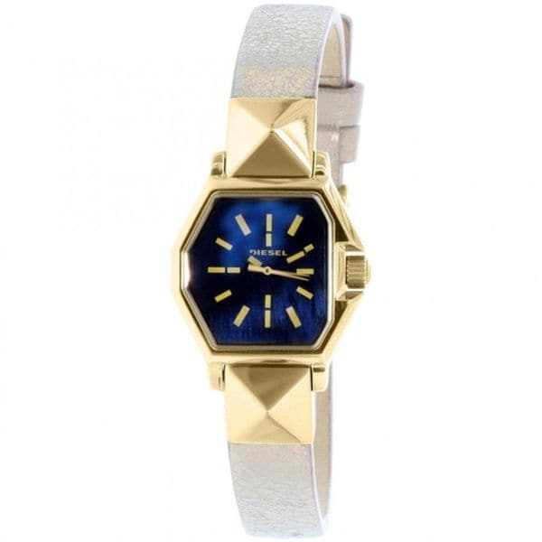Diesel Women's Z Backup DZ5470 Gold Leather Quartz Watch